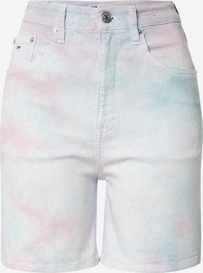 Tommy Jeans Jean en turquoise / rose / blanc, Vue avec produit