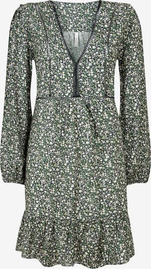 Pepe Jeans Kleid in grün / weiß, Produktansicht