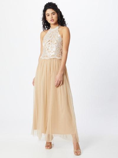VILA Kleid in beige / creme, Modelansicht