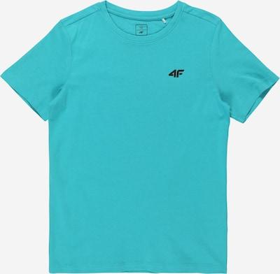 4F Camiseta funcional en turquesa / negro, Vista del producto