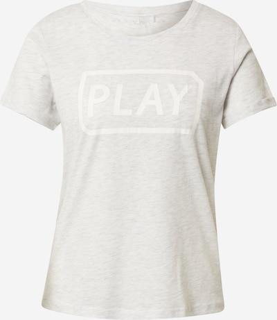 ONLY PLAY Camiseta funcional 'MAM' en blanco moteado, Vista del producto