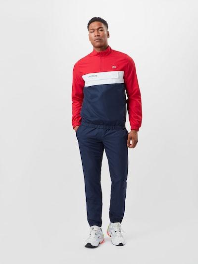 Lacoste Sport Športna obleka | temno modra / rdeča / bela barva: Frontalni pogled