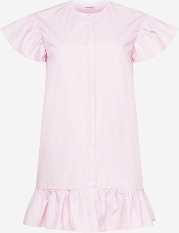GLAMOROUS CURVE Kleid in Pink