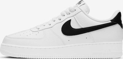Nike Sportswear Sneaker 'Air Force 1 '07' i svart / hvit, Produktvisning