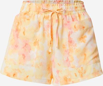 Fashion Union Shorts 'SWAGGER' in hellorange / rosa / weiß, Produktansicht