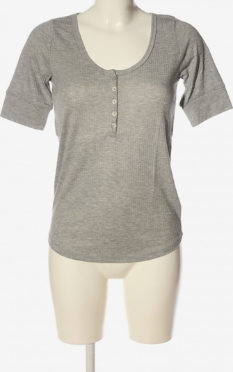 H&M Rippshirt in M in hellgrau, Produktansicht
