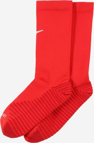 NIKE Αθλητικές κάλτσες 'Squad' σε κόκκινο