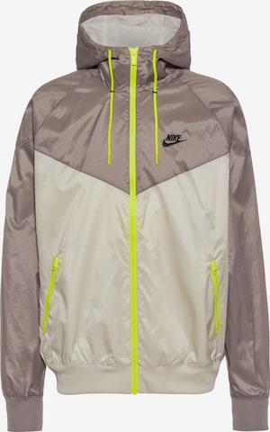 Nike Sportswear Sportjacka i beige