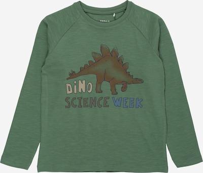 NAME IT Shirt 'THELO' in grasgrün / mischfarben, Produktansicht