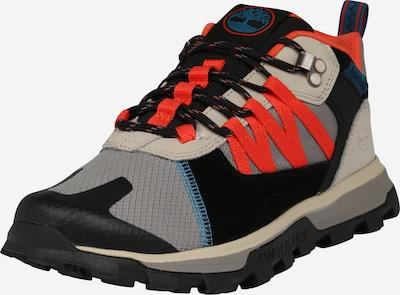 TIMBERLAND Športové šnurovacie topánky 'Treeline' - modrá / sivá / oranžovo červená / čierna, Produkt
