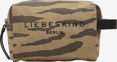 Liebeskind Berlin Kosmetiktasche in hellbeige / hellblau, Produktansicht