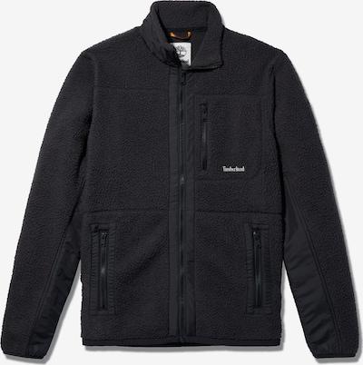 TIMBERLAND Fleecejacke in schwarz / weiß, Produktansicht