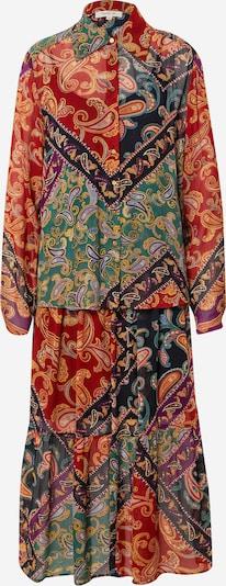 Derhy Kleid 'TANAGRA' in rauchblau / dunkelblau / goldgelb / grün / karminrot, Produktansicht
