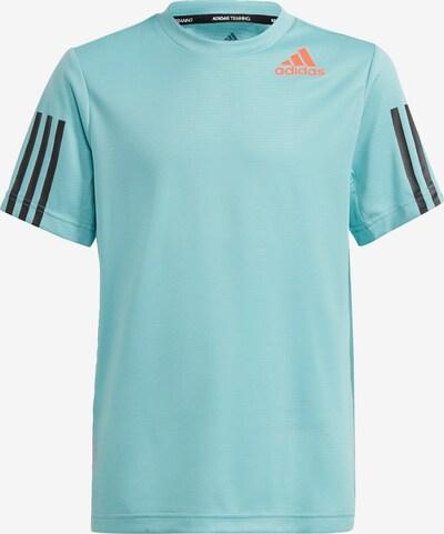 ADIDAS PERFORMANCE Functioneel shirt in de kleur Mintgroen / Sinaasappel / Zwart, Productweergave