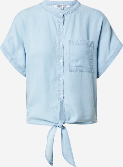 ABOUT YOU Chemisier en bleu clair, Vue avec produit