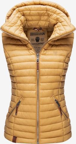 NAVAHOO Vest 'Shadaa' in Brown