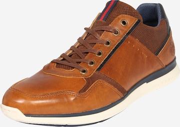 brūns BULLBOXER Sporta apavi ar šņorēm