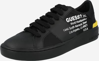 Sneaker bassa 'VERONA' GUESS di colore giallo / nero / bianco, Visualizzazione prodotti