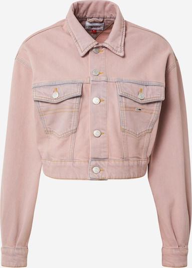 Tommy Jeans Tussenjas in de kleur Oudroze, Productweergave