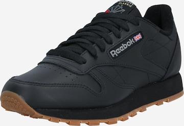 Reebok Classics Sneaker 'CL LTHR' in Schwarz