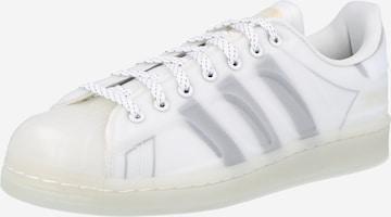 Sneaker bassa 'SUPERSTAR' di ADIDAS ORIGINALS in bianco