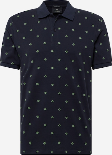 SCOTCH & SODA Shirt in navy / grün / hellgrün, Produktansicht