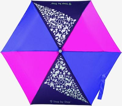 STEP BY STEP Regenschirm in blau / dunkelblau / lila, Produktansicht