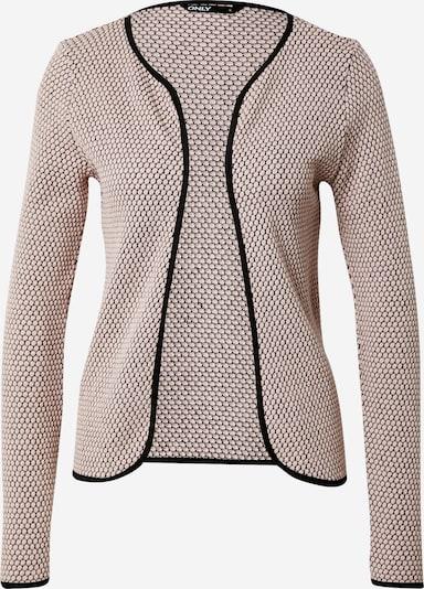 Only (Petite) Gebreid vest 'DIAMOND' in de kleur Rosa / Zwart, Productweergave