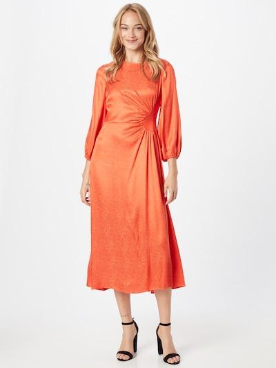 River Island Kleid 'Jaco Ruched' in de kleur Sinaasappel / Vuurrood, Modelweergave
