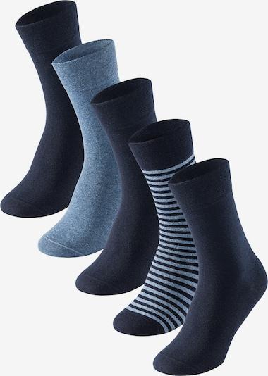 SCHIESSER Ponožky - námornícka modrá / modrosivá, Produkt