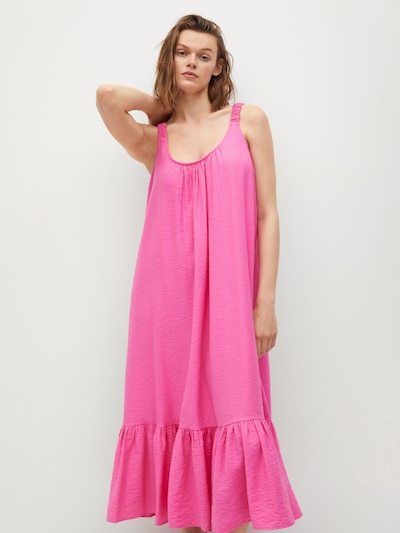 Rochie 'Marea' MANGO pe roz, Vizualizare model