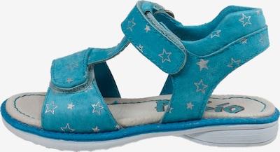 Pio Sandale in blau, Produktansicht