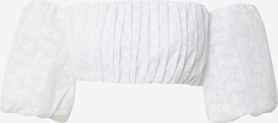 NA-KD T-shirt en blanc, Vue avec produit