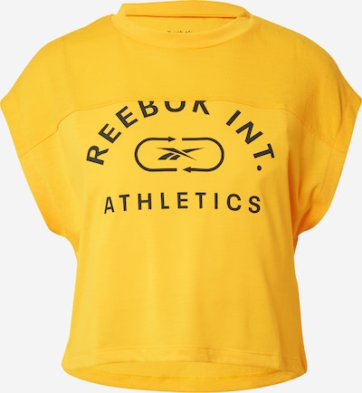 Reebok Sport Performance Shirt in Navy / Yellow, Item view