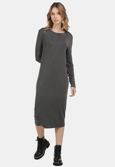 DreiMaster Vintage Kleid in dunkelgrau, Modelansicht