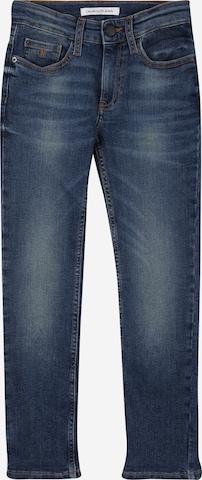 Calvin Klein Jeans Jeans 'SLIM INDUS DARK BLUE STR' in Blue