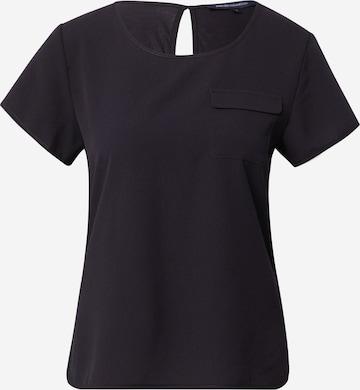 FRENCH CONNECTION - Camiseta talla grande en azul
