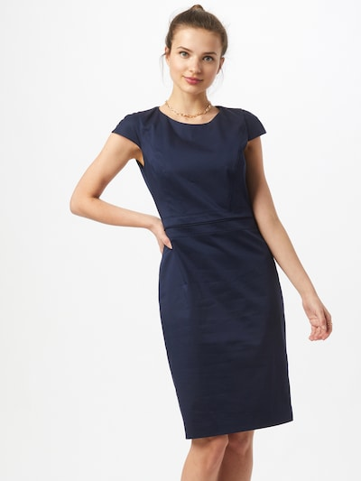 HUGO Kleid 'Keleras' in dunkelblau, Modelansicht