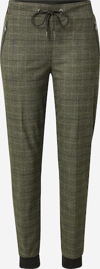 MOS MOSH Hlače 'Levon Glenn'   kaki / črna barva, Prikaz izdelka