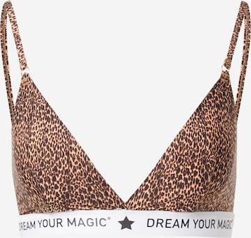 Soutien-gorge 'Dream Your' MAGIC Bodyfashion en marron