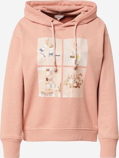 s.Oliver Sweatshirt in Mixed colours / Pink, Item view