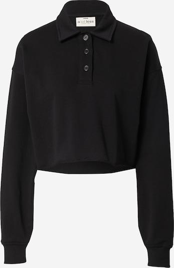 A LOT LESS Sweat-shirt 'Leona' en noir, Vue avec produit