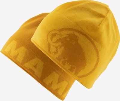 MAMMUT Sportmütze in gelb / senf, Produktansicht
