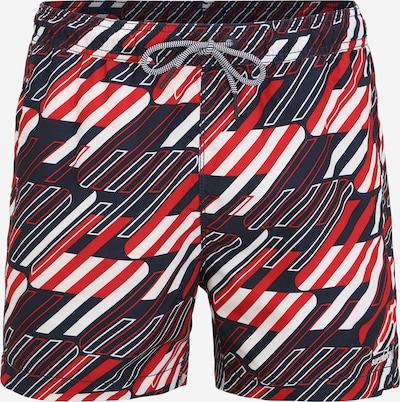 Superdry Plavecké šortky - červená / černá / bílá, Produkt