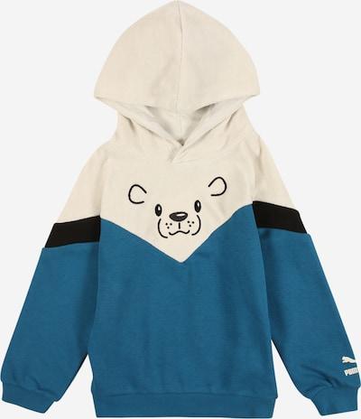 PUMA Sweatshirt in blau / schwarz / weiß, Produktansicht