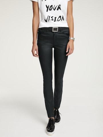 heine Jeans in Zwart