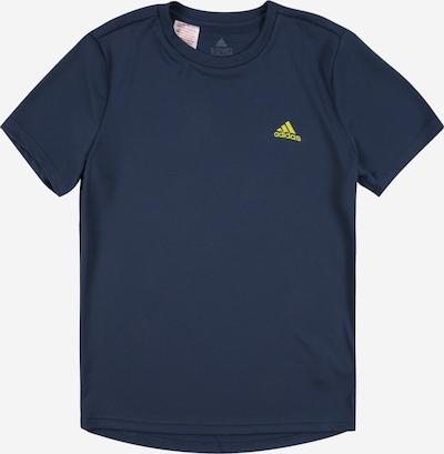 ADIDAS PERFORMANCE Sport-Shirt in dunkelblau / gelb, Produktansicht