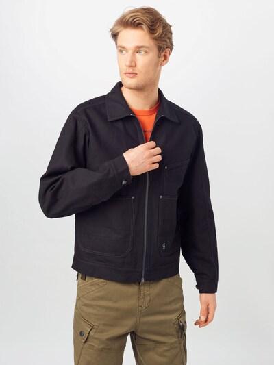 G-Star RAW Between-season jacket in Black, View model