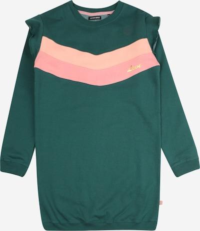 LEMON BERET Robe en émeraude / rose clair, Vue avec produit