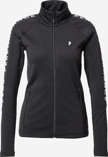 PEAK PERFORMANCE Sports jacket in black / white, Item view